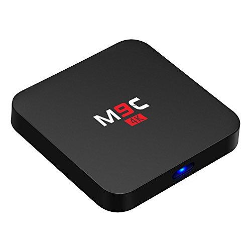 Bqeel M9C Android TV Box Android 5.1.1 Amlogic S905 Quad-Core 1GB+8GB 1080p Ausgabe eingebaute Wifi KODI(XMBC) vollständig beladen unterstützt Videowiedergabe Streaming Media Player