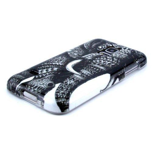Caja del teléfono / SM-G800 cubierta de la caja TPU Elefante Terminal cubierta de la caja protectora de la piel para Samsung Galaxy Mini S5