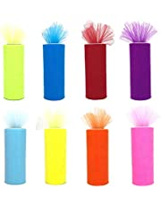 Tulle Fabric Rolls 6 Inch by 100 Yards (300 feet)
