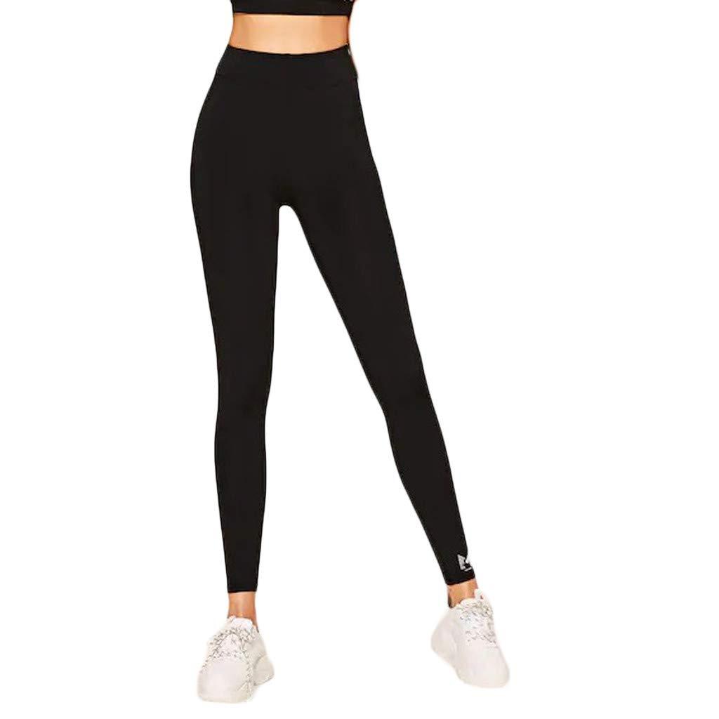 Amazon.com: Redacel Womens High Waist Yoga Pants Running ...