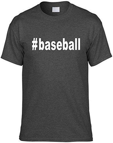Mens Funny T-Shirt Size M (#baseball (Hashtag Tee Shirt) Sports) Unisex Shirt