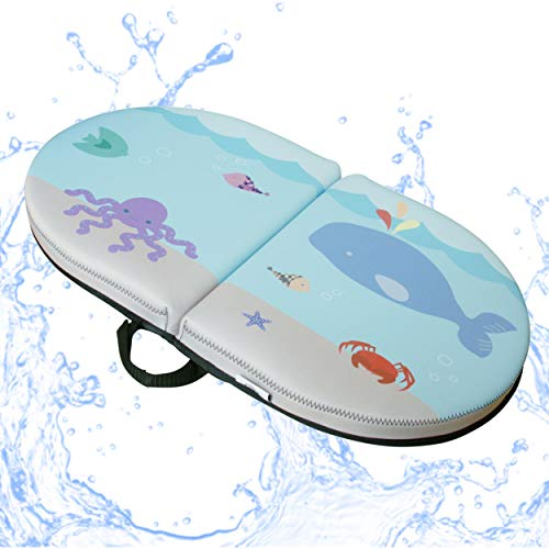 BlueWhale Bath Kneeler Pool Pad - Cushions/Protects Knees, Tender Bottoms/Thighs from Hot Pool Deck; Waterproof Seating for Boat Camping RV 22