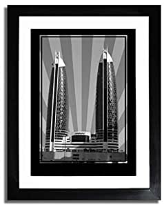 Photo of Damac Tower-Black And White No Text F07-M (A3)