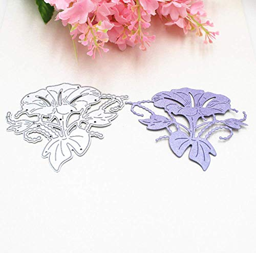 Zittop Morning Glory Cutting Dies Stencil Album Scrapbooking Cards DIY Embossing Tool by Zittop (Image #2)