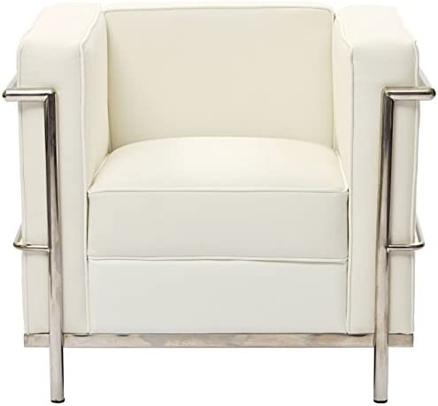 Modway Charles Leather Petite Armchair