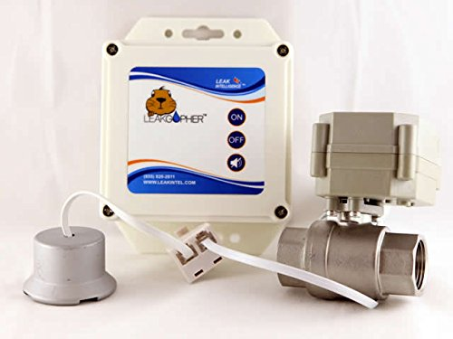 Water Heater Automatic 3/4 Inch SHUT OFF Valve by Leak Intelligence, NSF Certified, USA MADE