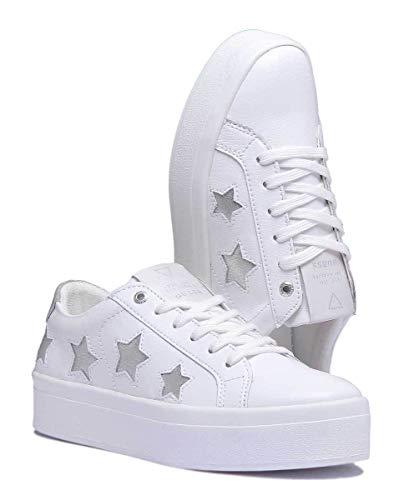 Guess Whisi Lea12 Flfhs3 Blanco Zapatillas x60qSvwvd