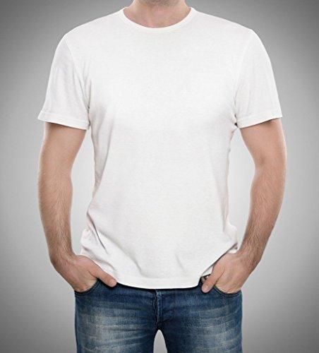 Hemp T-Shirt by JOHN ADDISON | Simple Classic Design | Plain Solid Colour | Breathable | Natural Fibers ()