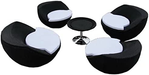 Sungao Imitación bambú - Rota Mimbre de sofá Set/sofá Suite/sofá ...