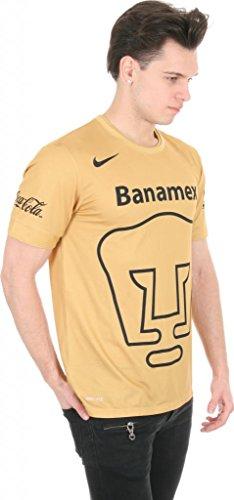 Nike Mens Pumas 2015 Home Stadium Gold/Dark Obsidian/Dark Obsidian Jersey