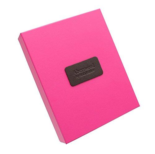 Mala Leder ABERTWEED Kollektion Leder und Tweed Geldbörse 454_40 Candy Pink Herringbone z28ogb98