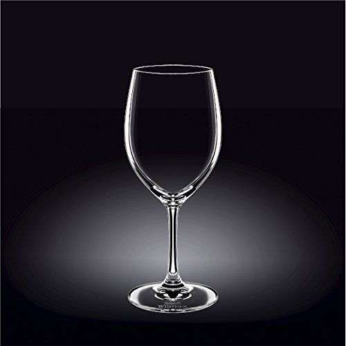 Wilmax 888007 460 ml Wine Glass Set of 644; Pack of 8 by Wilmax