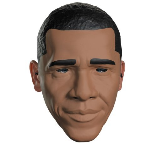 Disguise Costumes Obama Vacuform 1/2 Mask, Adult