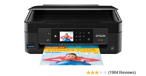 Amazon com: Epson Expression Home XP-420 Wireless Color Photo