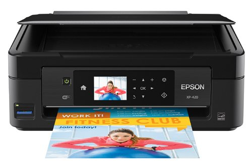 Epson Expression Home XP-420 Wireless Color Photo Printer with Scanner & Copier Best Printer for the Money