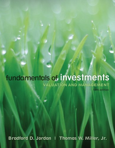 Fundamentals of Investments w/S&P card + Stock-Trak card (Mcgraw-hill/Irwin Series in Finance, Insurane and Real Estate)