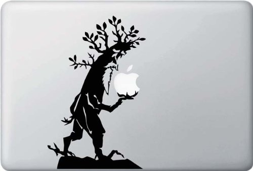 Yadda-Yadda Design Co. Tree Ent - MacBook or Laptop Decal - (5in Width x 7.75in Height)