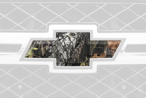 Mossy Oak Graphics 14010-BU Break-Up Auto Emblem Skin (Mossy Oak Tie)