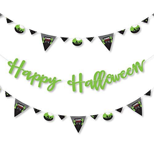 Big Dot of Happiness Zombie Zone - Halloween