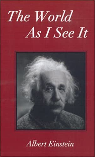 the world as i see it einstein summary