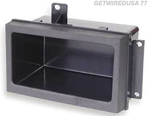 Install Centric ICGM1BN GMC//Chevrolet Full Size 1988-94 Truck GRAY Complete Installation Solution for Car Stereos SCOSCHE 0107ICGM1BN