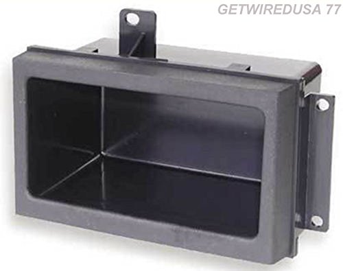 GETWIREDUSA #77. 88 to 94 TRUCK POCKET RADIO DASH KIT CAR STEREO STORAGE BIN CUBBY for GMC CHEVY PICKUP GMP333 GM1518 88-00-3301 CREW CAB DUALLY BLAZER SUBURBAN YUKON (94 Dash Kit)