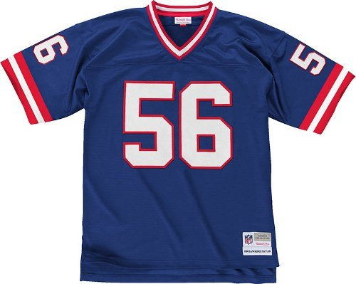 Lawrence Taylor New York Giants Blue Throwback Jersey XXXLarge