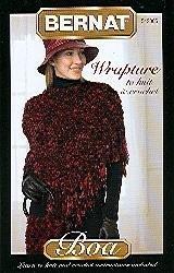 Wrapture to Knit & Crochet (Knit Boa)