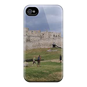 JdN4281qZTa Faddish Spi Castle Slovakia Case Cover For Iphone 4/4s