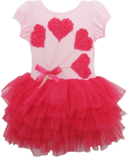 Best Sunny Fashion Dresses For Girls - Girls Dress Heart Tutu Dance Pageant
