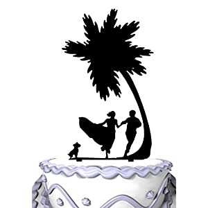 410O%2B3-%2BBML._SS300_ Beach Wedding Cake Toppers & Nautical Cake Toppers