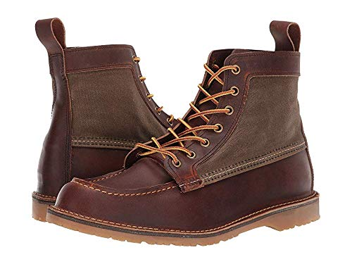 Red Wing Heritage Men's Wacouta Canvas Moc Copper 11 D US (Red Wing Moc)