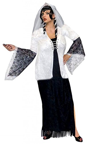 Sanctuarie Designs Womens /DRESS & JACKET ONLY/Ghost Zombie Bride/ Dress Plus Size Supersize Halloween -