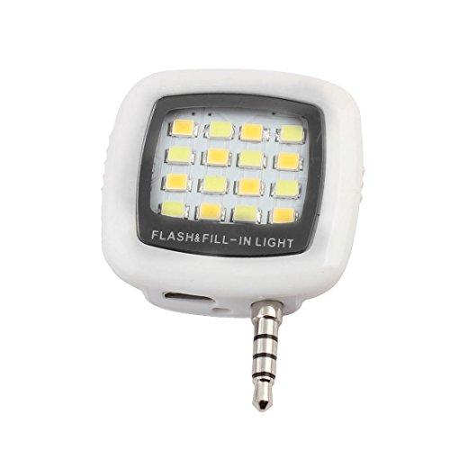 RK-10 LED Flash Fill Selfie Light (White) - 1