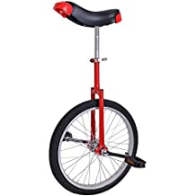 "AW 20"" Inch Chrome Wheel Unicycle Leakproof Butyl Tire Wheel Cycling Outdoor Sports Fitness Exercise"