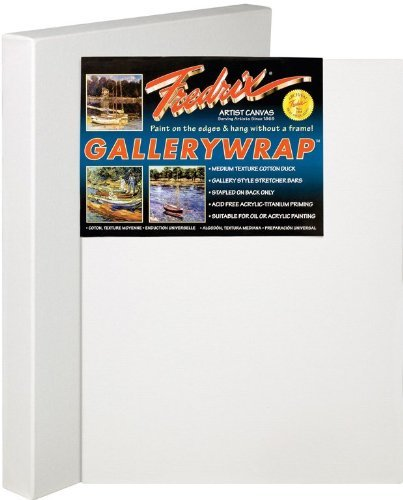 Fredrix 5088 Gallery Wrap Stretched Canvas, 24 by 30-Inch [並行輸入品]   B07T9S7VHS