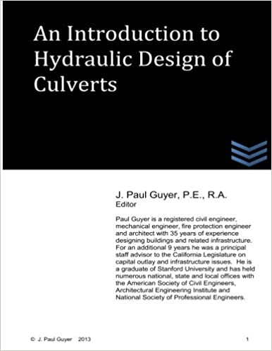 An Introduction to Hydraulic Design of Culverts