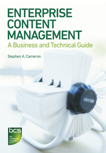 Enterprise Content Management: A Business and Technical Guide Pdf