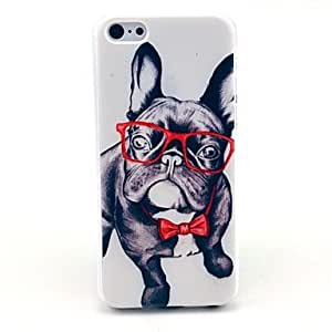 YULIN Happy Dog Pattern Hard Case for iPhone 5C
