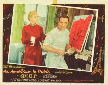 American In Paris - Authentic Original 14x11 Movie Lobby Card