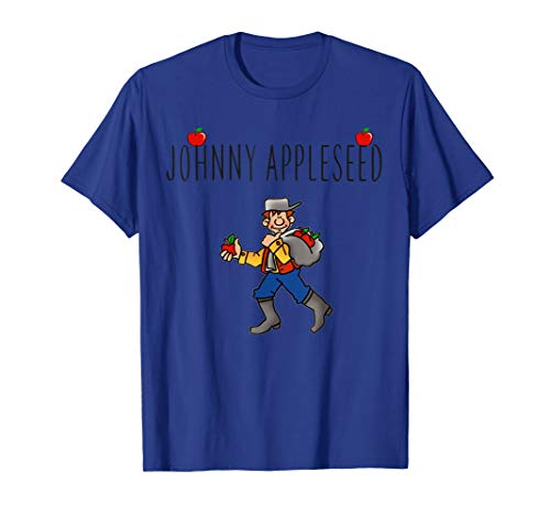 Cute Johnny Appleseed Shirt 2018 Costume for Kids Men Women -