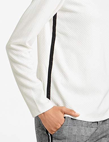 T Femme shirt À Manches Blancoff 99700 Taifun white Longues gvfY7Iyb6