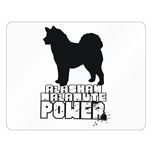[Idakoos - Alaskan Malamute POWER - Dogs - Plastic Acrylic] (Alaskan Malamute Power Dog)