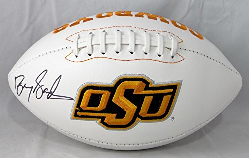 Barry Sanders Autographed OSU Logo Football- JSA W (Barry Sanders Autographs)