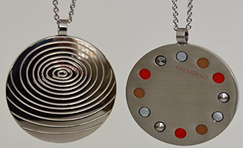 Power Energy Scalar Quantum Bio Science Negative Ions Pendant Necklace Electromagnetic Field Protection (GDE-2052 by GD