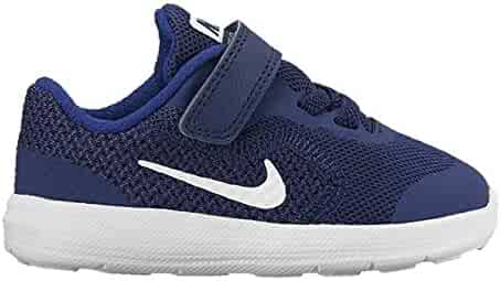 new products 24860 63353 Nike Kids  Revolution 3 (TDV) Running Shoe Binary White deep Royal Blue