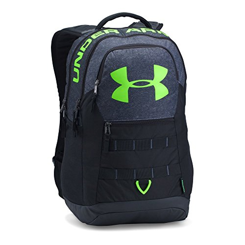 Under Armour Big Logo 5.0 Backpack, Stealth Gray/Black, One Size