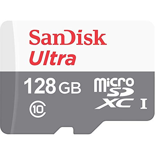 SanDisk Ultra 128GB 100MB/s UHS-I Class 10 microSDXC Card SDSQUNR-128G-GN6MN