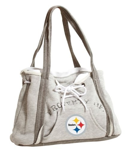 Pittsburgh Steelers Hoodie Purse by Hall of Fame Memorabilia   B01MYMXRS0