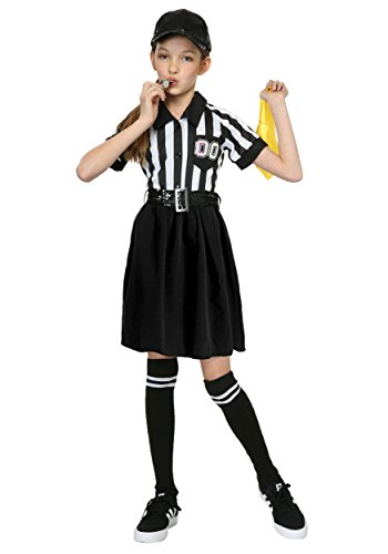 Girl's Referee Costume Medium